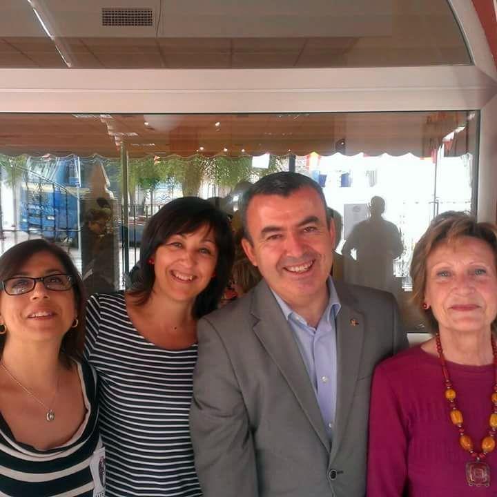Lectoras de Alpera con Lorenzo Silva en Higueruela