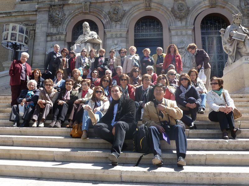 La Roda: CLubes de lectura en la Biblioteca Nacional de Madrid.