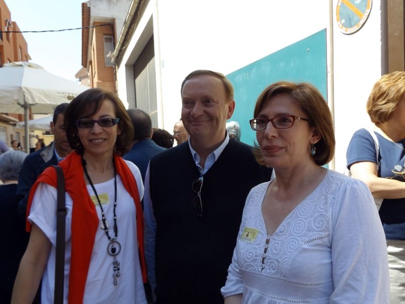 Gonzalo Giner con participantes