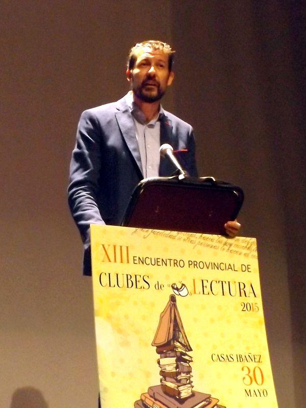 Javier Rosa: Jefe Sección del Libro, Delgación JCCM Albacete.