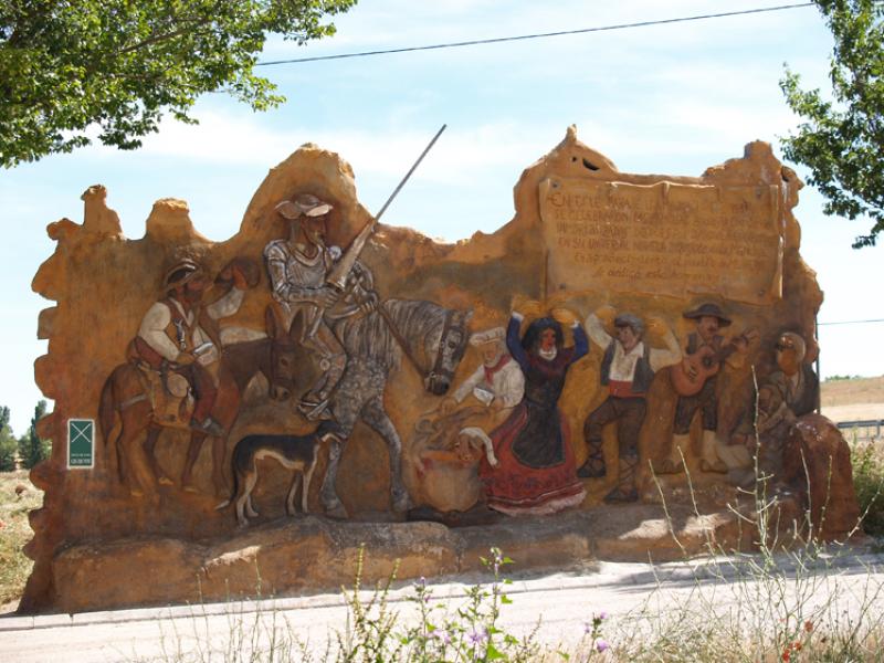 """Mural """"Las bodas de Camacho"""""""